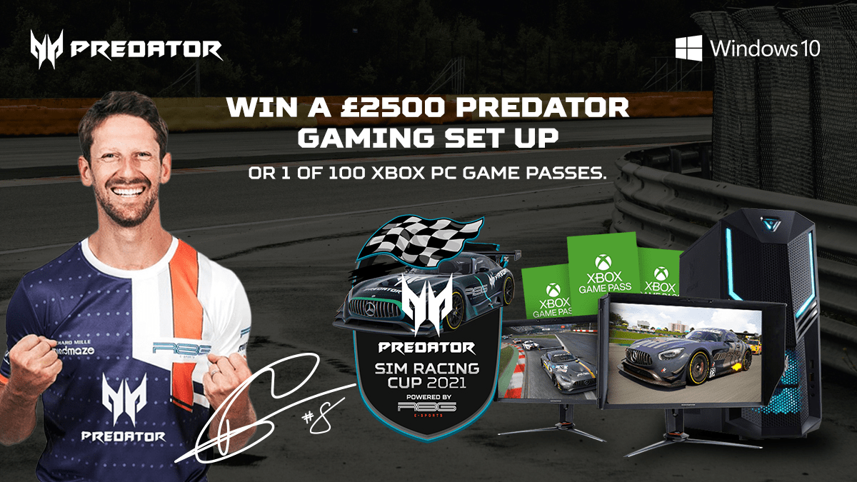 BEAT THE PRO SIM RACING COMPETITION