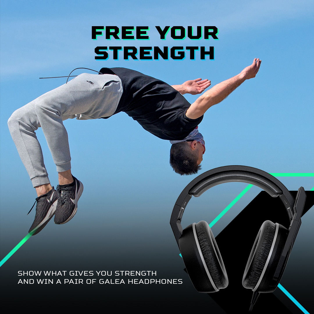 Win a pair of Galea headphones Giveaway Image