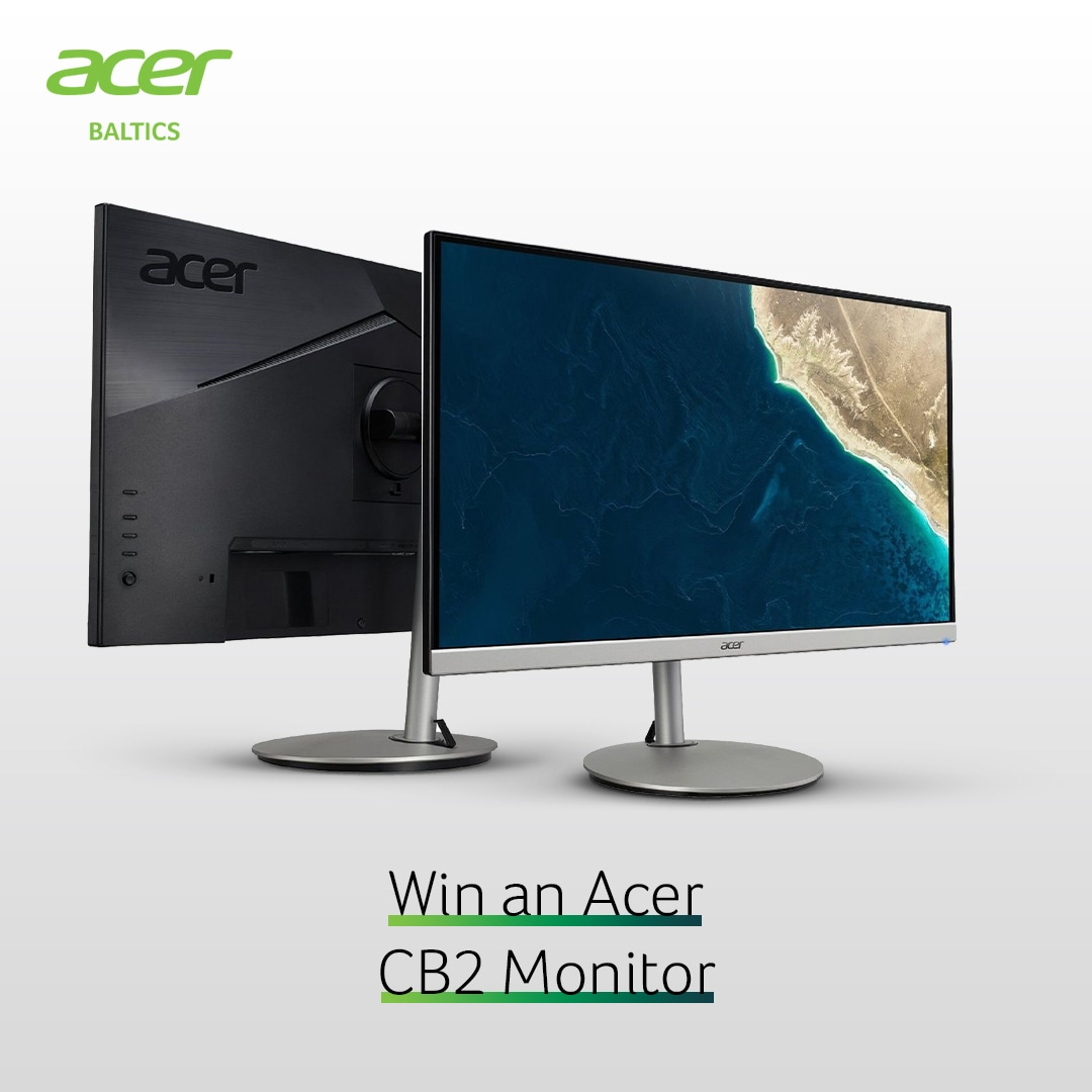 Win an Acer CB2 Monitor Giveaway Image