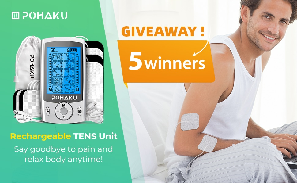 online contests, sweepstakes and giveaways - Rechargeable TENS Unit Giveaway !!!