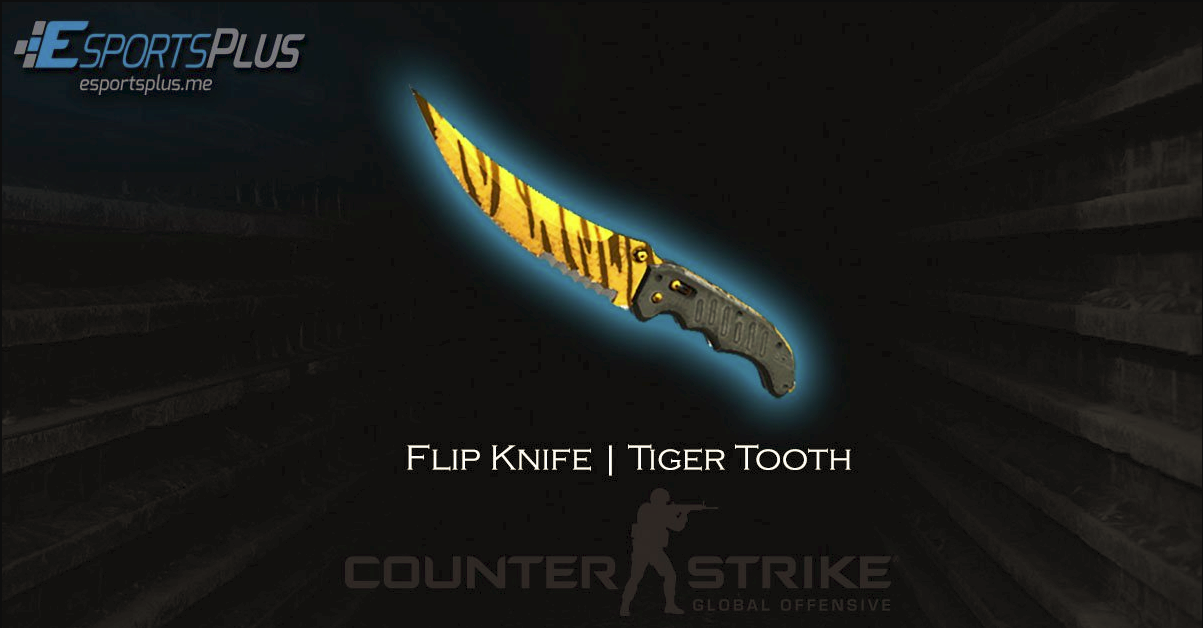 flip knife tiger tooth giveaway