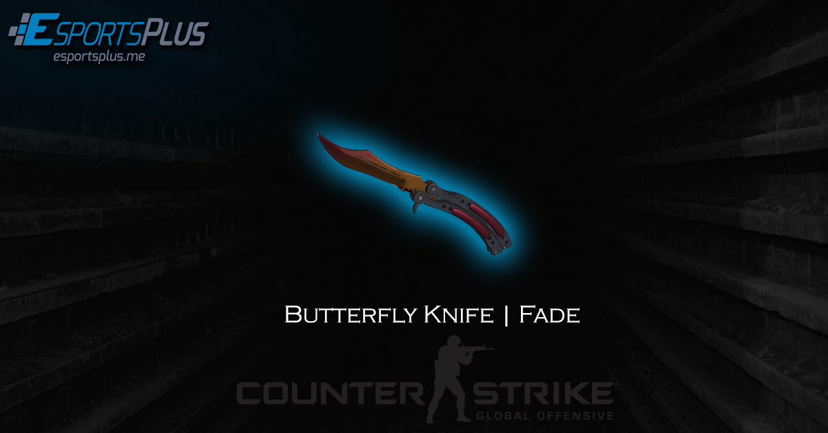Butterfly Knife | Fade Giveaway