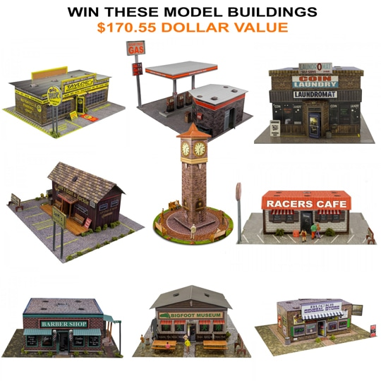 $170,55 Worth of Model Buildings Giveaway Image