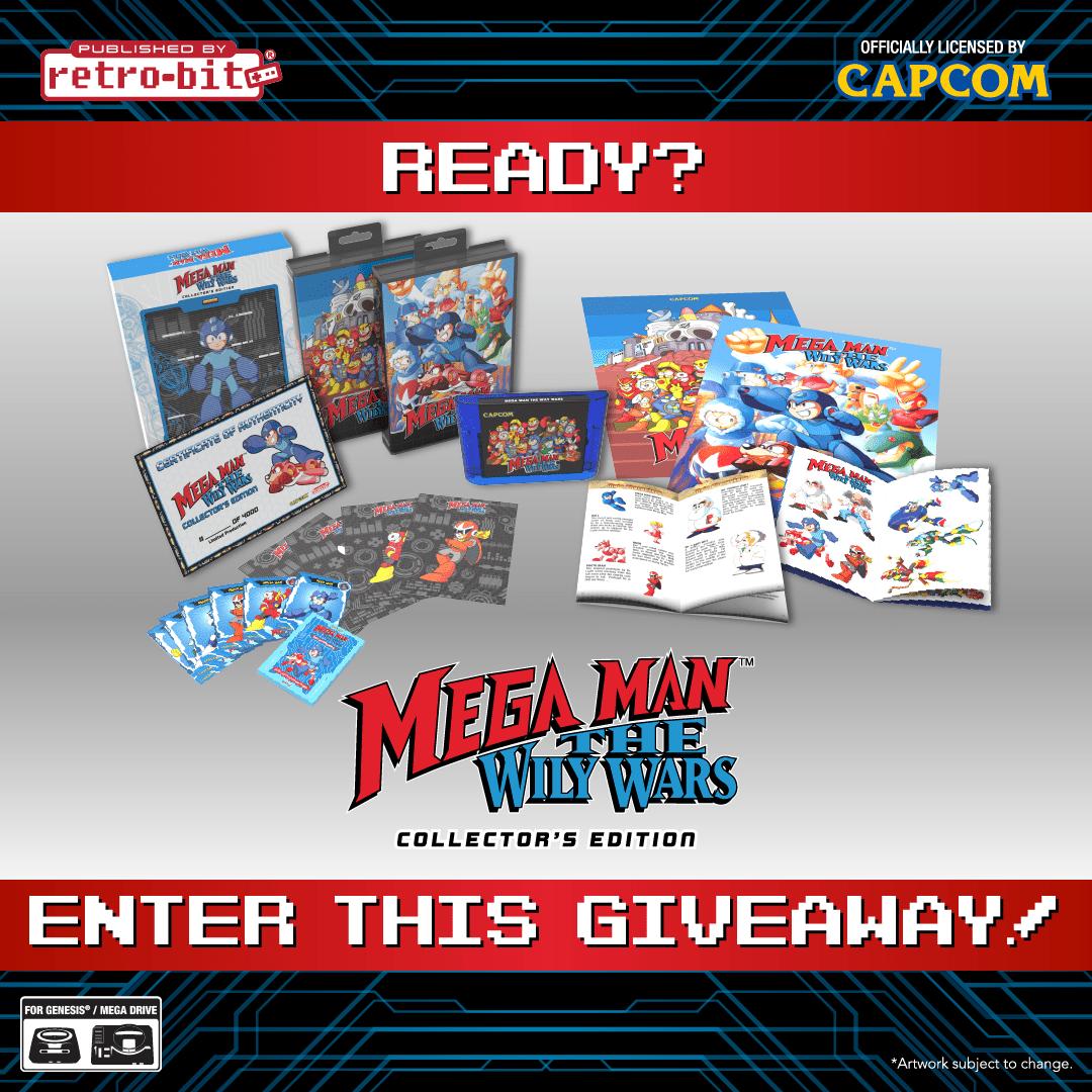 Mega Man: The Wily Wars Collection for the SEGA Genesis/Mega Drive Giveaway Image