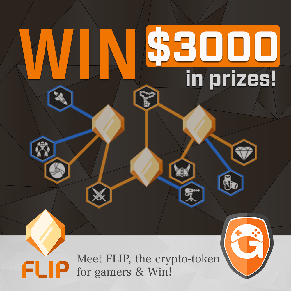 $3,000 in prizes! FLIP Giveaway - Gameflip - Current Promotions