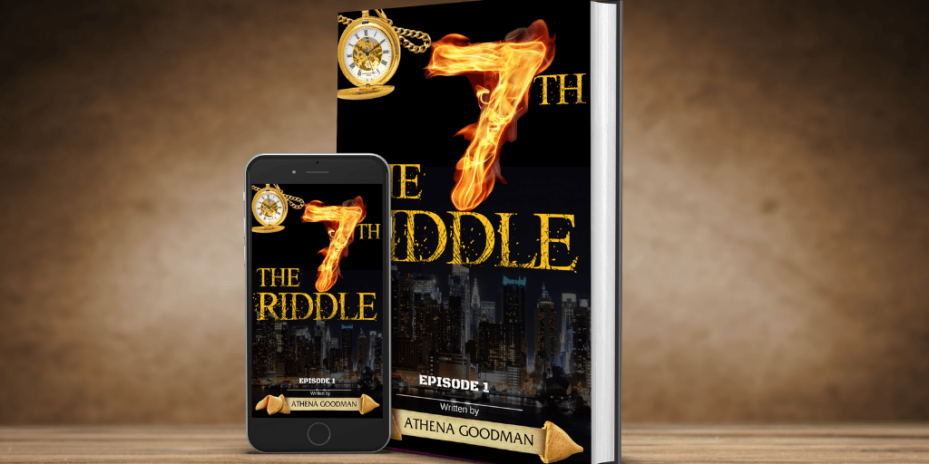 """Enter to win a $25 Amazon Gift Card and a copy of the book """"7th Riddle"""" Giveaway Image"""