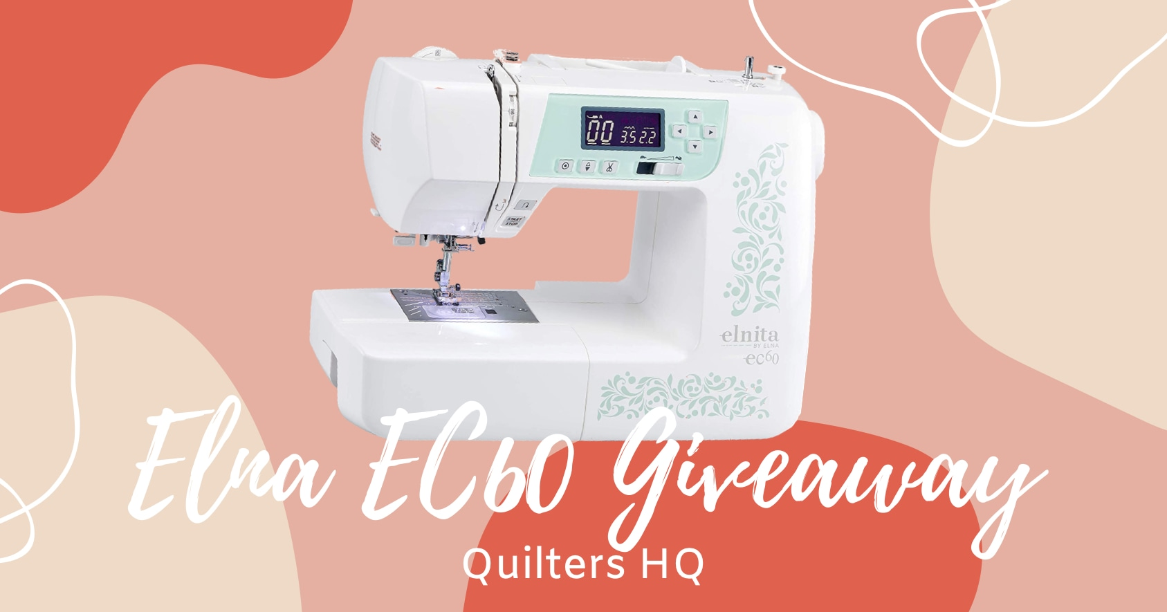 Elna EC60 Giveaway from Quilters HQ Giveaway Image
