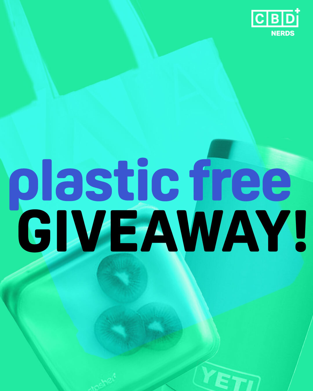 Say Goodbye to Single-Use Plastic!  {07/31/21} Giveaway Image