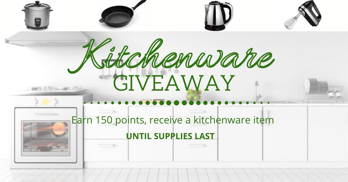 Kitchenware Giveaway Giveaway Image