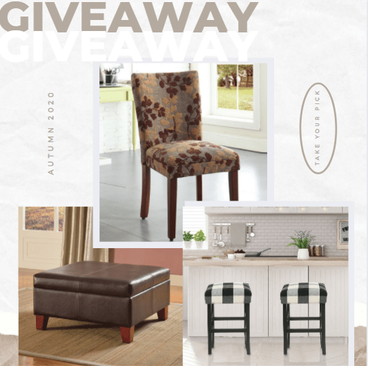 A Chance to Win an Item of Your Choice on HomePop.com! Giveaway Image