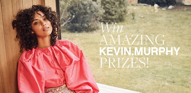 20 winners will win their favorite Kevin Murphy hair products, including your choice of a wash, rinse, 2 treatment products, and 2 styling products. One lucky winner will receive a prize pack of up to 20 products! Giveaway Image