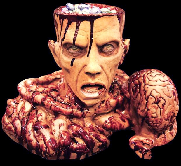 Enter to win a Genuine Brain Bowl Halloween Prop from Distortions Unlimited Giveaway Image