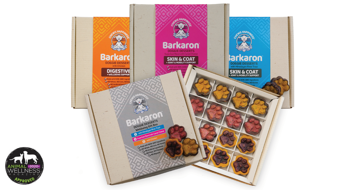 Enter to win a Barkaron� Super Healthy Decadent Doggie Dessert� Gift Box  See Rules Giveaway Image