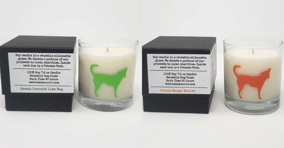 Enter for a Chance to WIN (2) Bahamourri Candles Giveaway Image