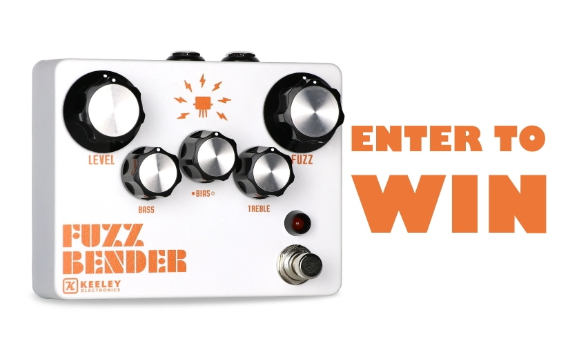 Enter to Win a Keeley Fuzz Bender Guitar Pedal! Giveaway Image