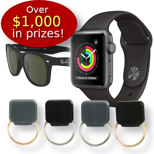 Indiegogo Campaign Pre-Launch Giveaway - Magnetic Eyeglass Holder