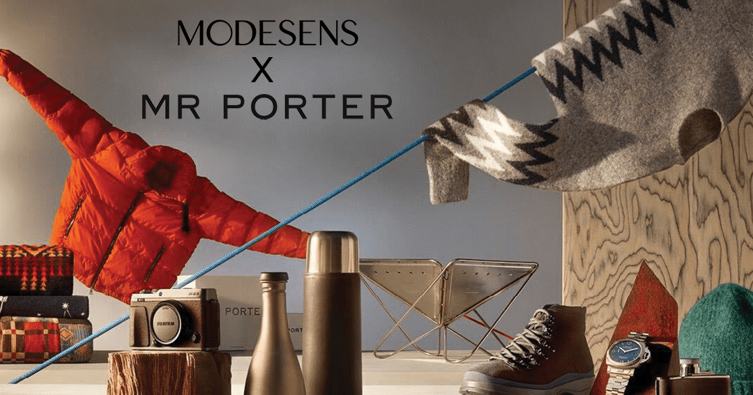 online contests, sweepstakes and giveaways - ModeSens X MR PORTER Sweepstakes