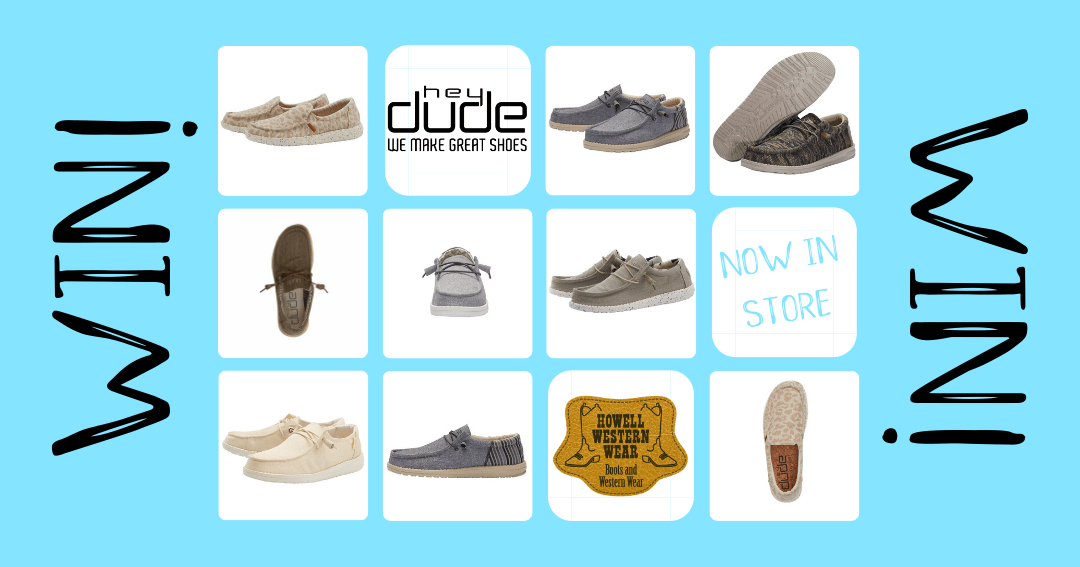 Win a Pair of Hey Dude Shoes! Giveaway Image