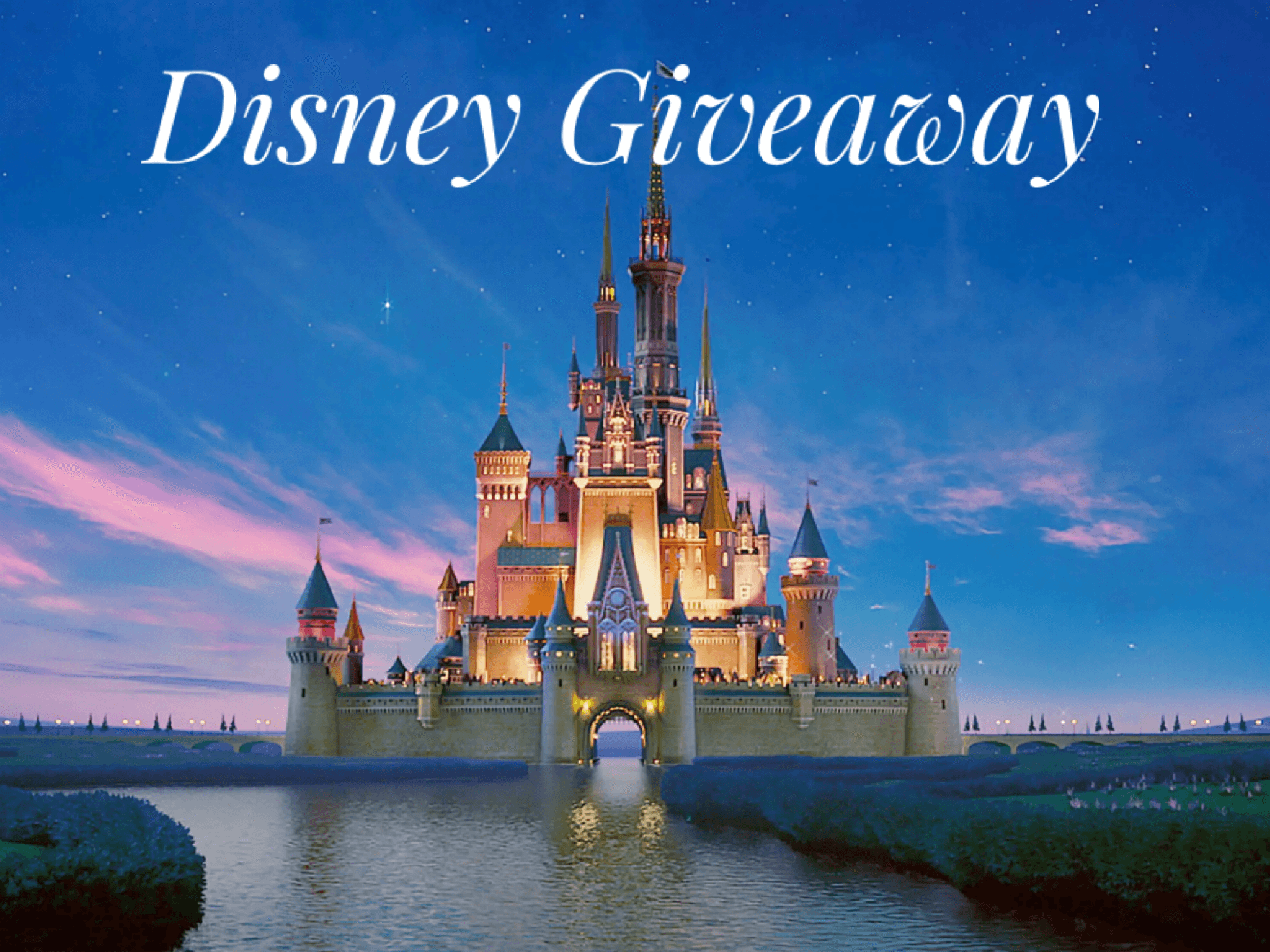 online contests, sweepstakes and giveaways - Disney Vacation Giveaway