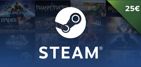 Win a 25� Steam Wallet Code Giveaway Image