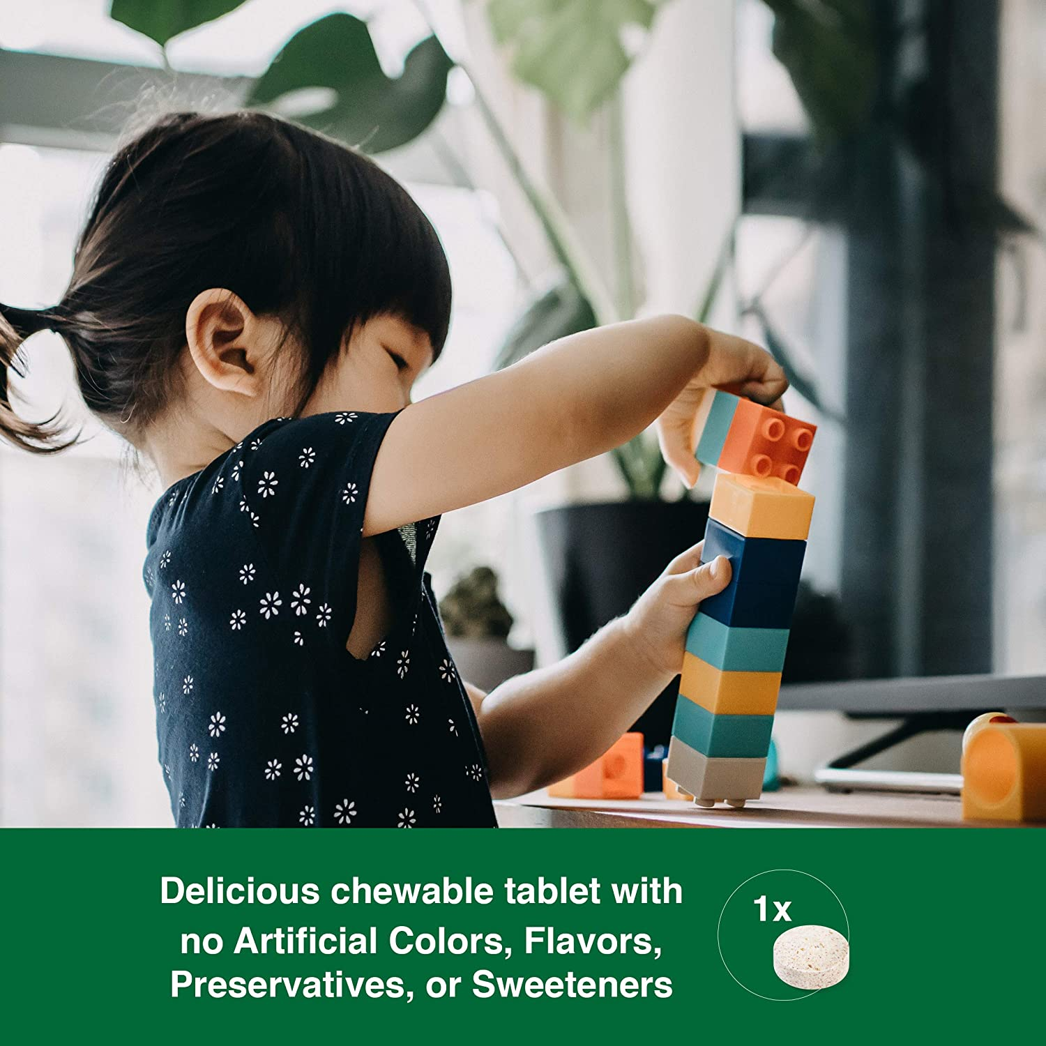Enter to win 2 Months' Supply of Jamieson Chewable Probiotics for Kids. $100 Value. Giveaway Image
