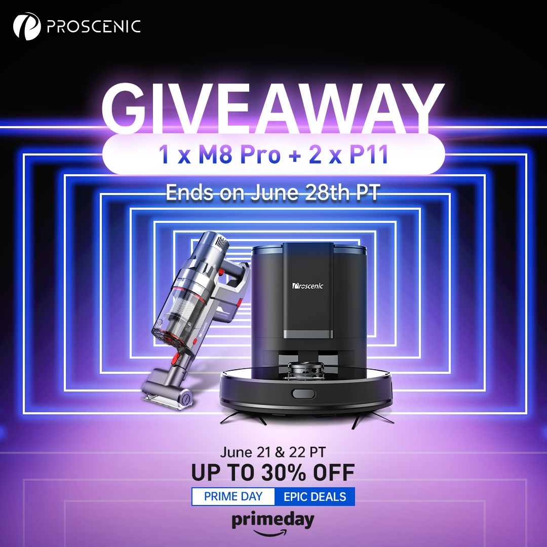 2021 Proscenic Prime Day Giveaway