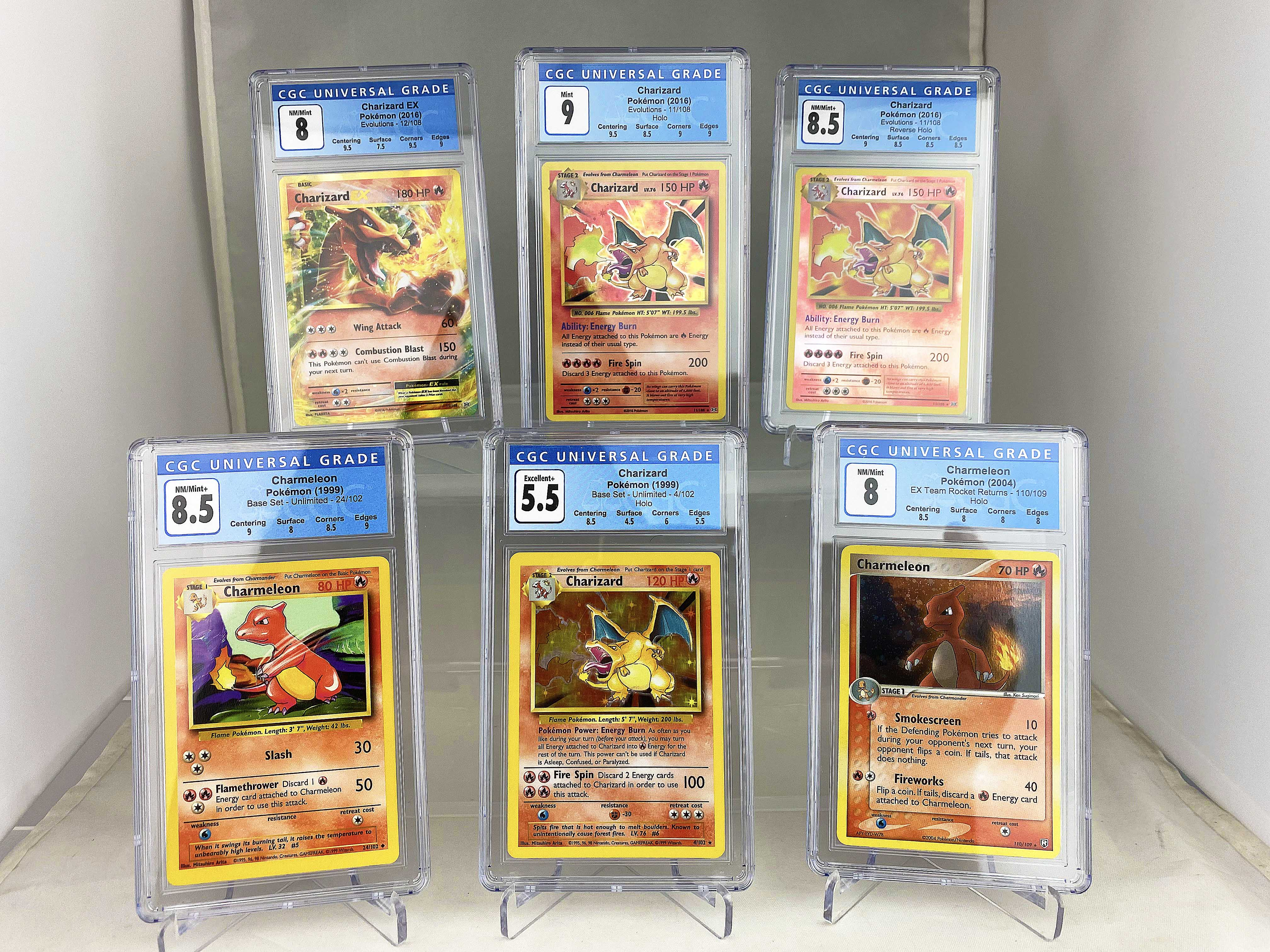 The PokéCave 100k Graded Charizard Giveaway! Giveaway Image