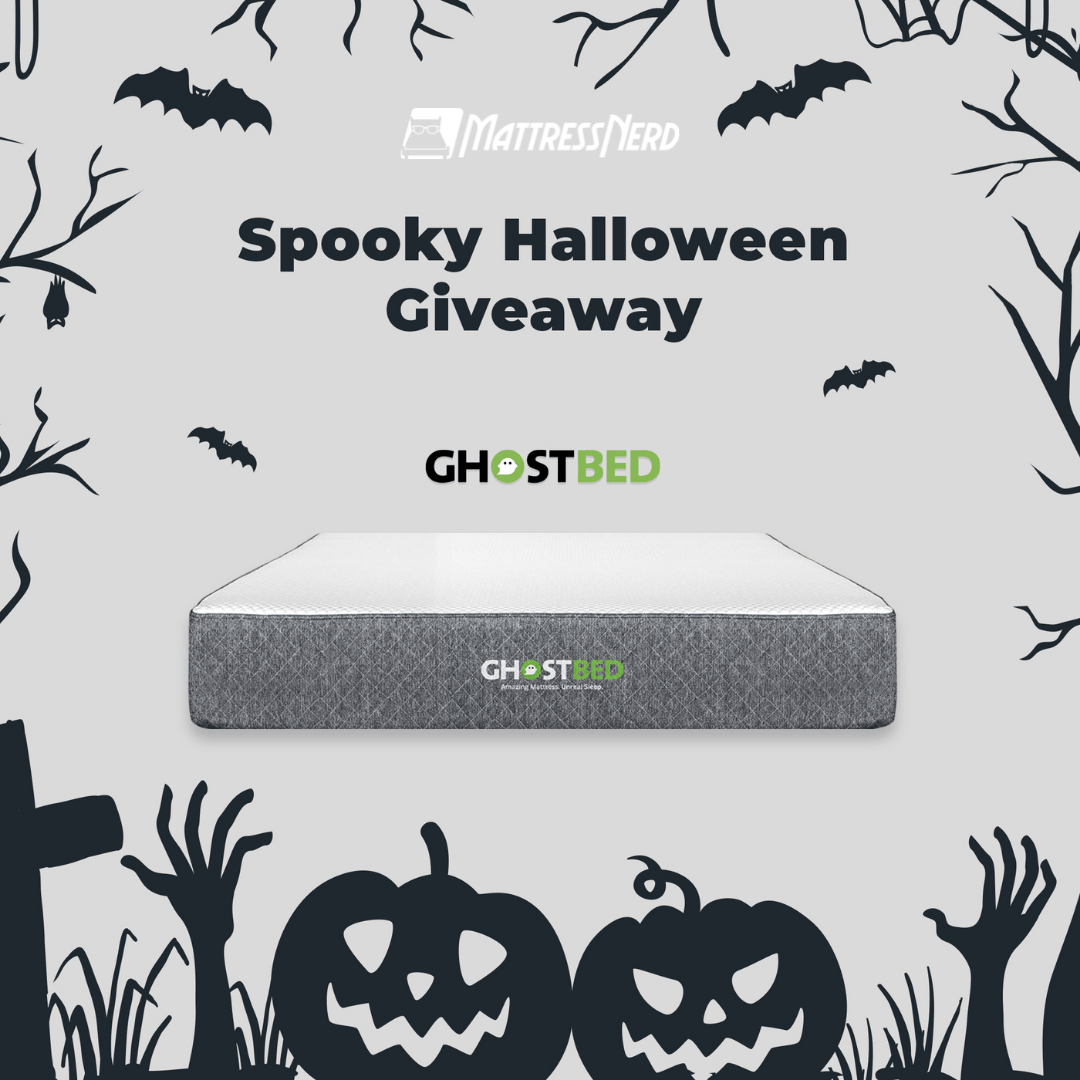 Mattress Nerd's Halloween Giveaway - Win a GhostBed Mattress! 10/30/2021 Giveaway Image