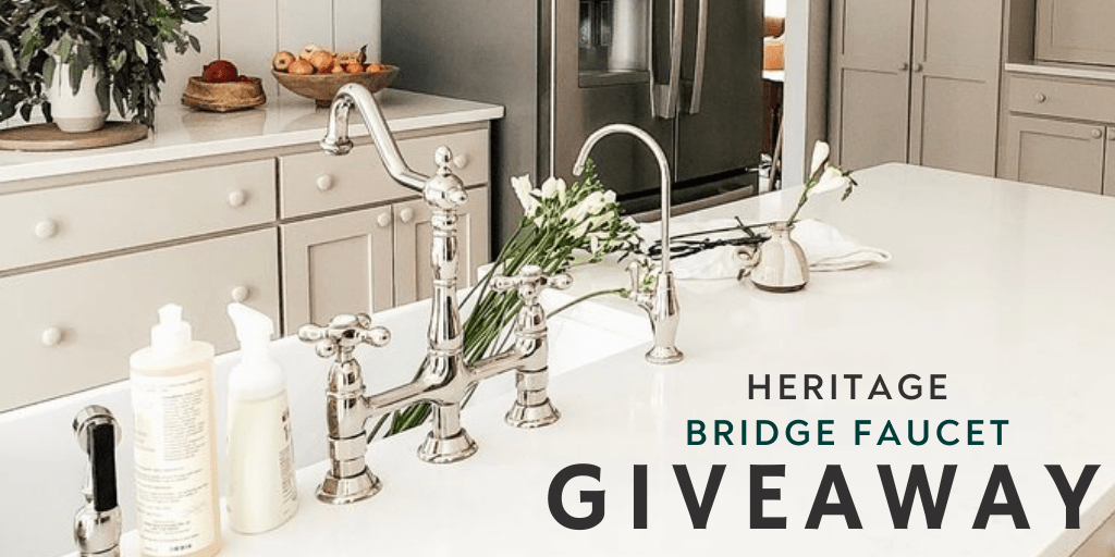 online contests, sweepstakes and giveaways - Kingston Heritage Bridge Faucet Giveaway