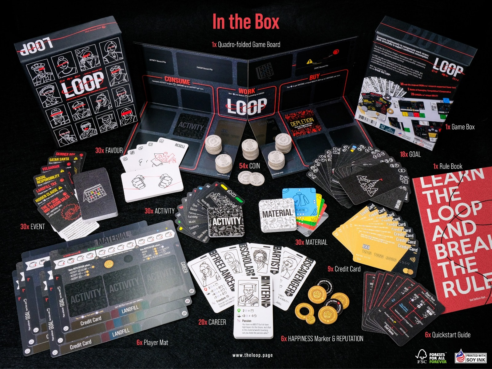 <<<<<<<Board Games Giveaway>>>>>>>[[[[[Meeting with the Creators]]]]