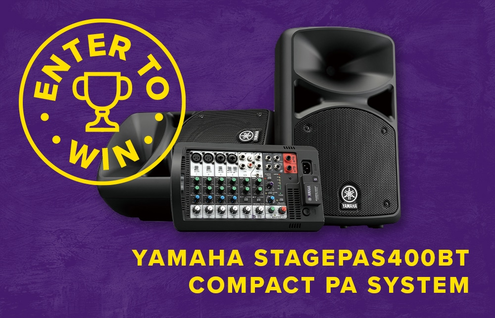 online contests, sweepstakes and giveaways - ENTER-TO-WIN A Yamaha STAGEPAS400BT Compact PA System!