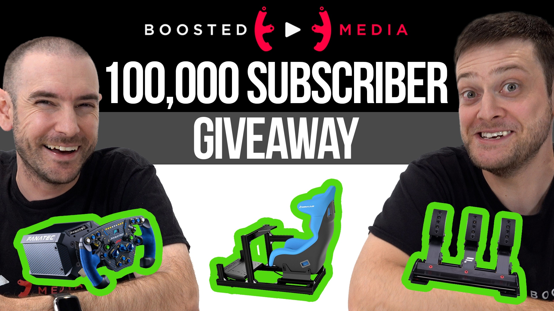 Boosted Media 100k Subs