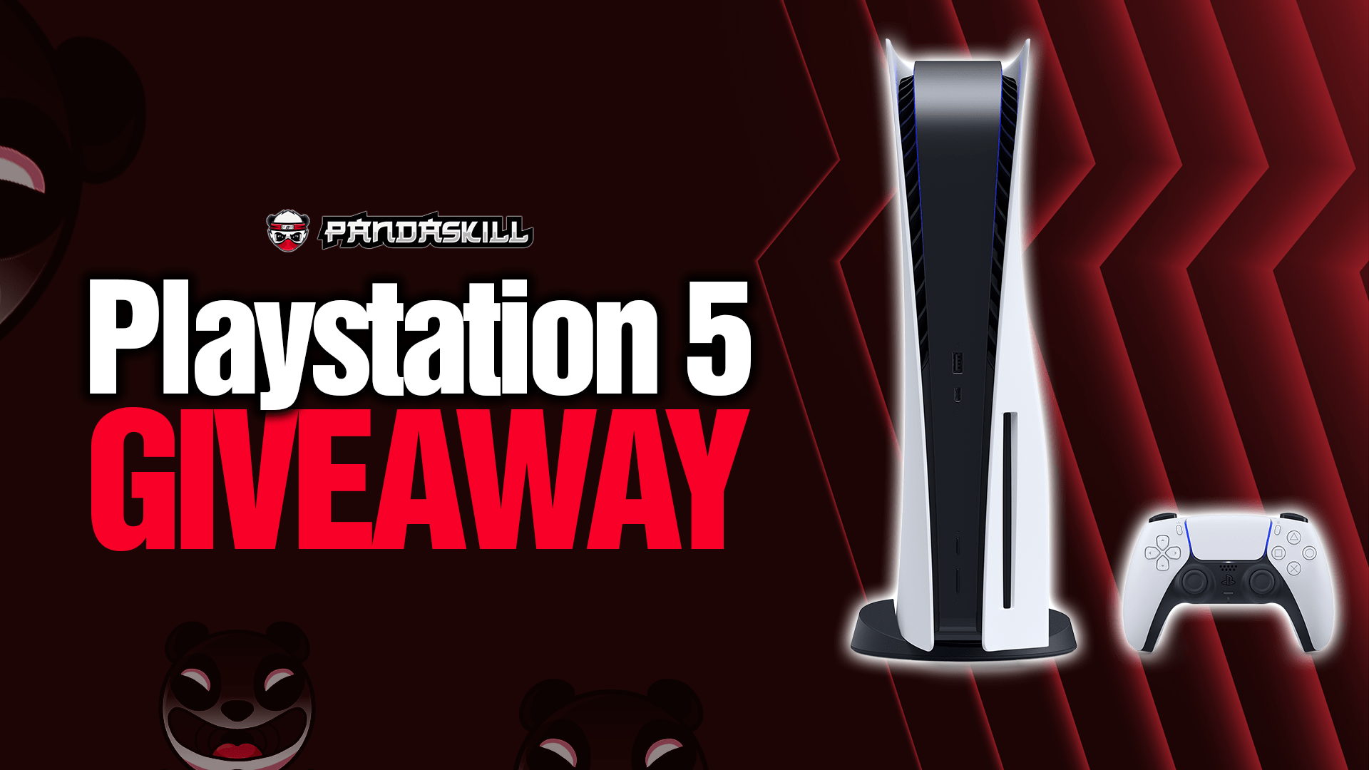 Playstation 5 Disc Edition by Pandaskill Giveaway Image