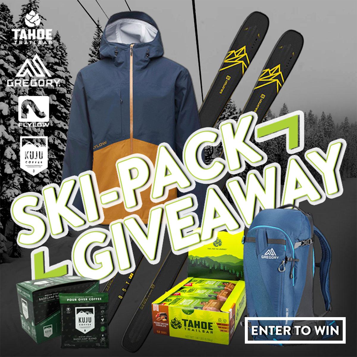 Ski-pack Giveaway