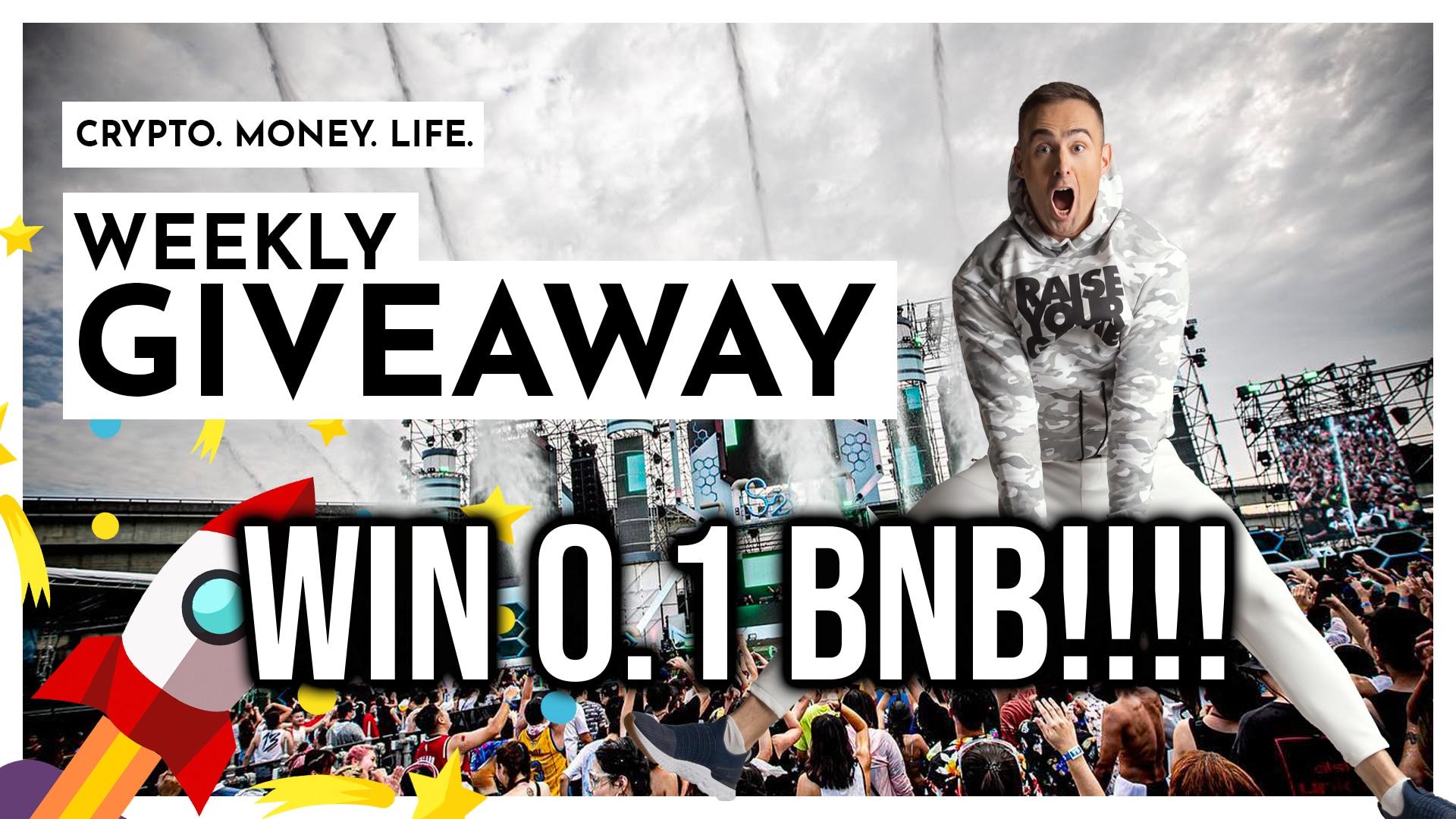 TEN WINNERS!! 0.1 BNB ($40) Giveaway Image