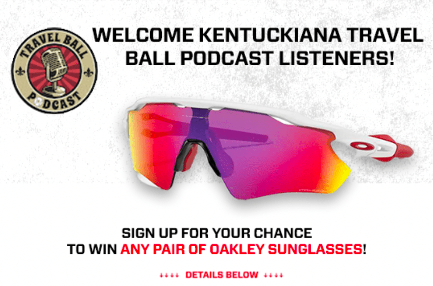 Win a ANY Oakley Sunglasses Available on Guardian Baseball ($150 value) Giveaway Image