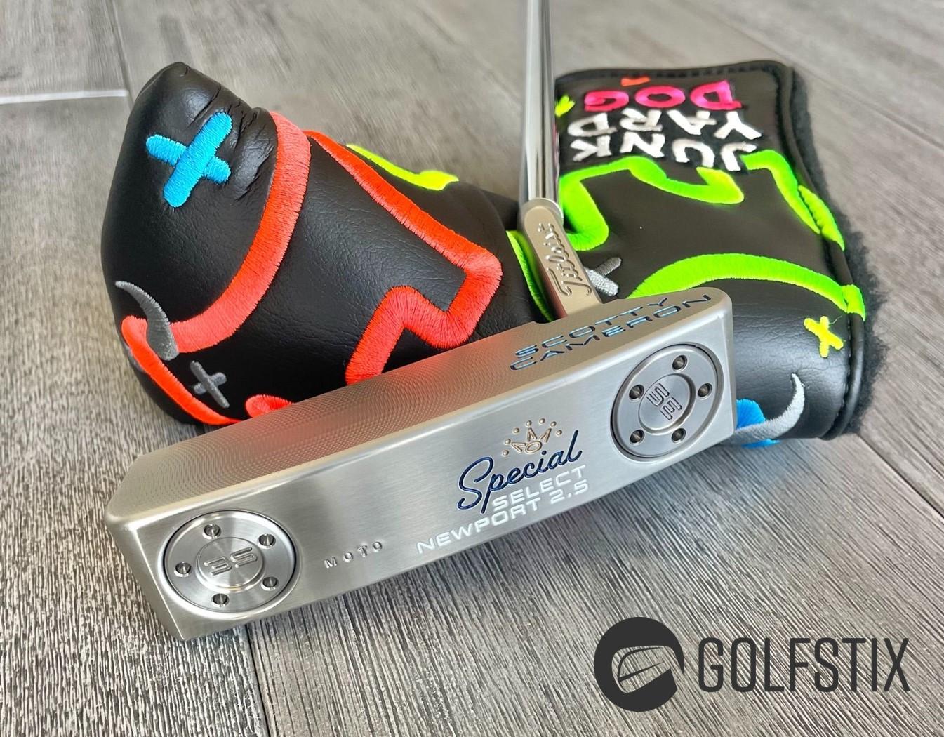 Golfstix July Giveaway - Limited Scotty Cameron MOTO Special Select Newport 2.5 - Junk Yard Dog
