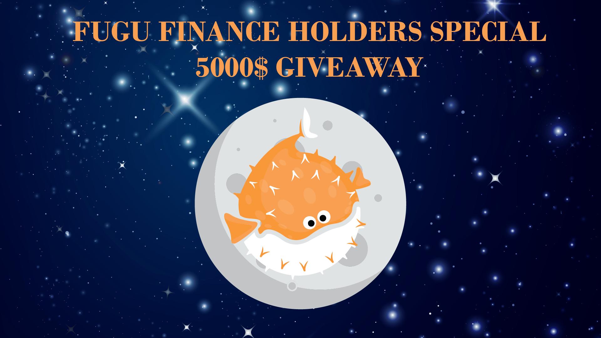 50 WINNERS!! $100 in FUGU Tokens Giveaway Image