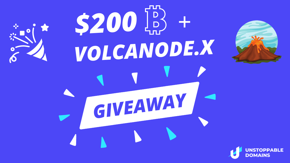 online contests, sweepstakes and giveaways - $200 in BTC and Volcanode.x Giveaway