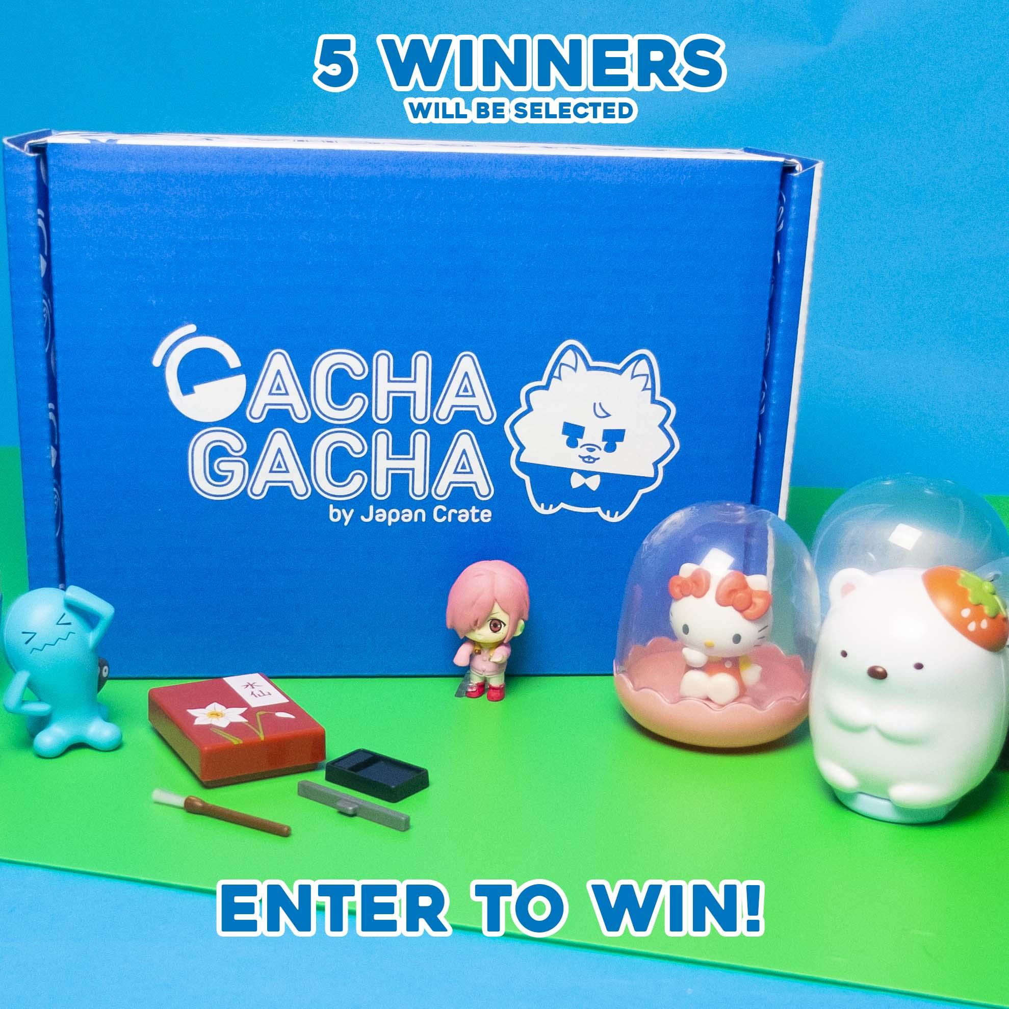 Gacha Gacha Crate x March 2021 Crate Giveaway Giveaway Image