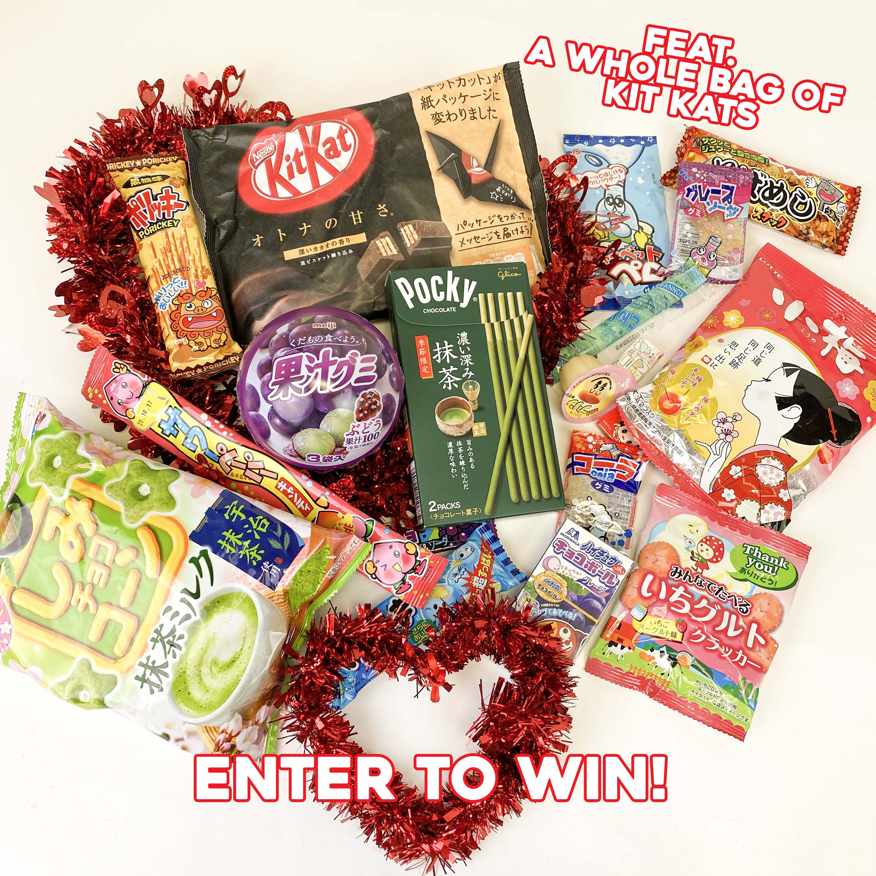 Japan Crate Valentine's Giveaway Ft. a Whole Bag of Kit Kats Giveaway Image