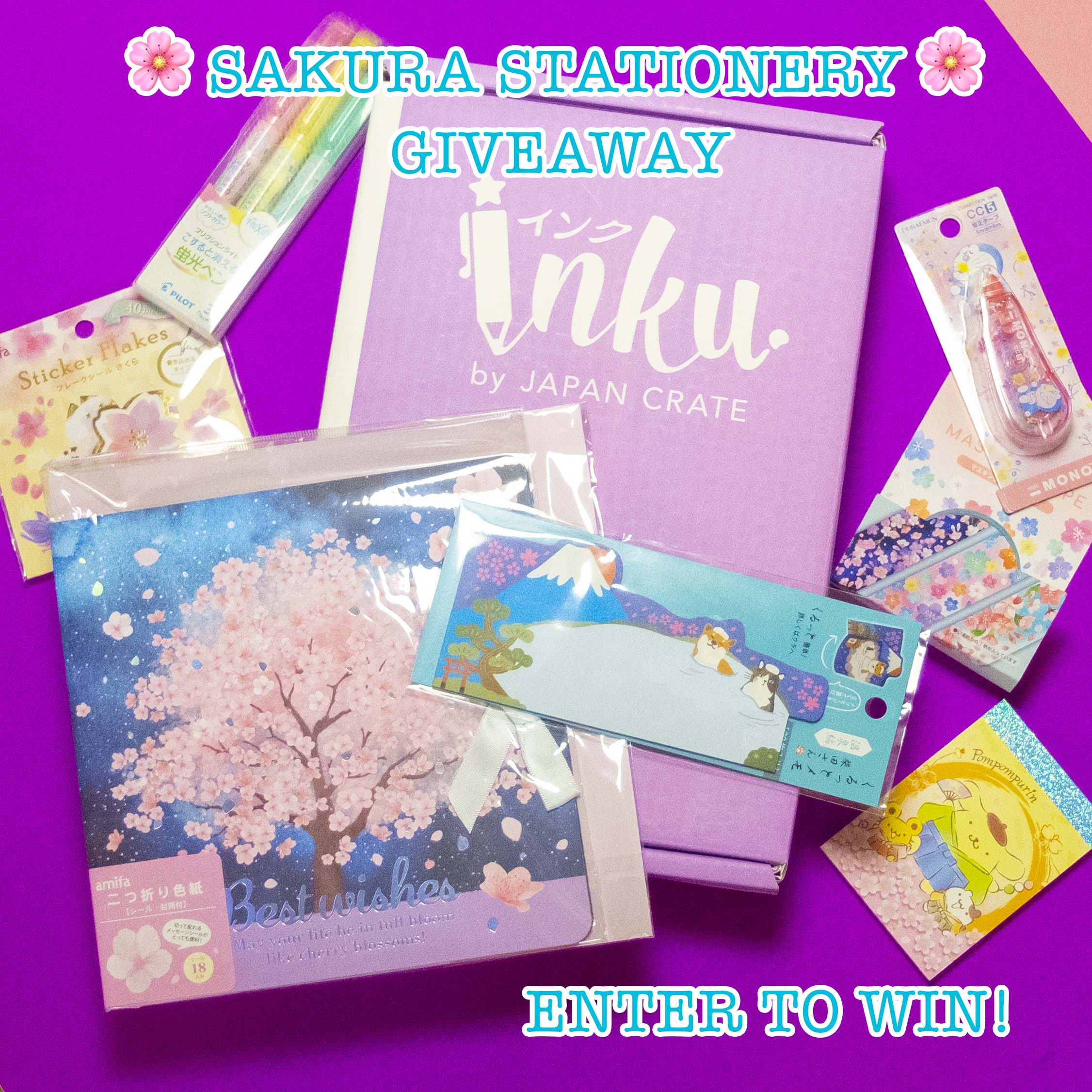 Inku Crate x March 2021 Crate Giveaway Giveaway Image