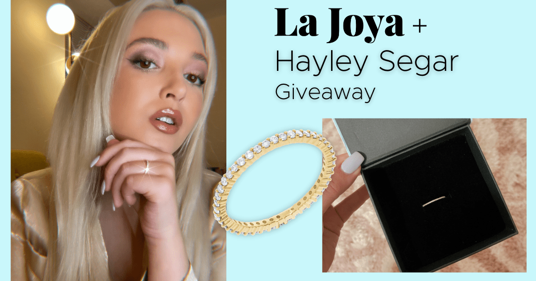 Win a 0.3 Carat Diamond and Gold Plated Eternity Band (ends 07/24/2021) Worldwide Giveaway Image