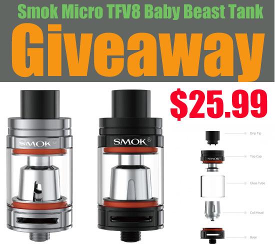 Розыгрыш Smok Micro TFV8 Baby Beast Tank! 004