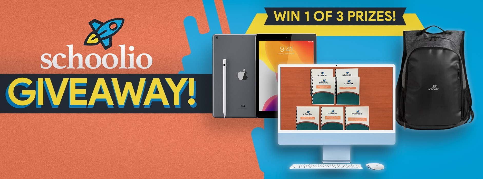 online contests, sweepstakes and giveaways - Schoolio Back To Learning Giveaway!