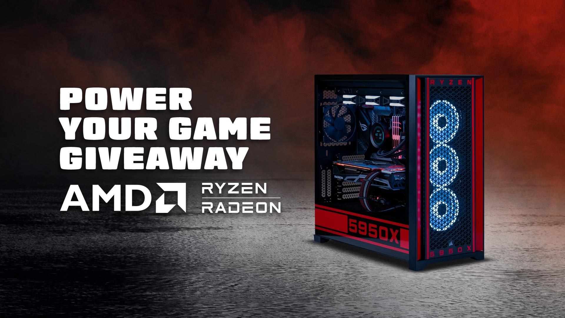 AMD Ryzen 9 5950X Custom PC Build Giveaway Image
