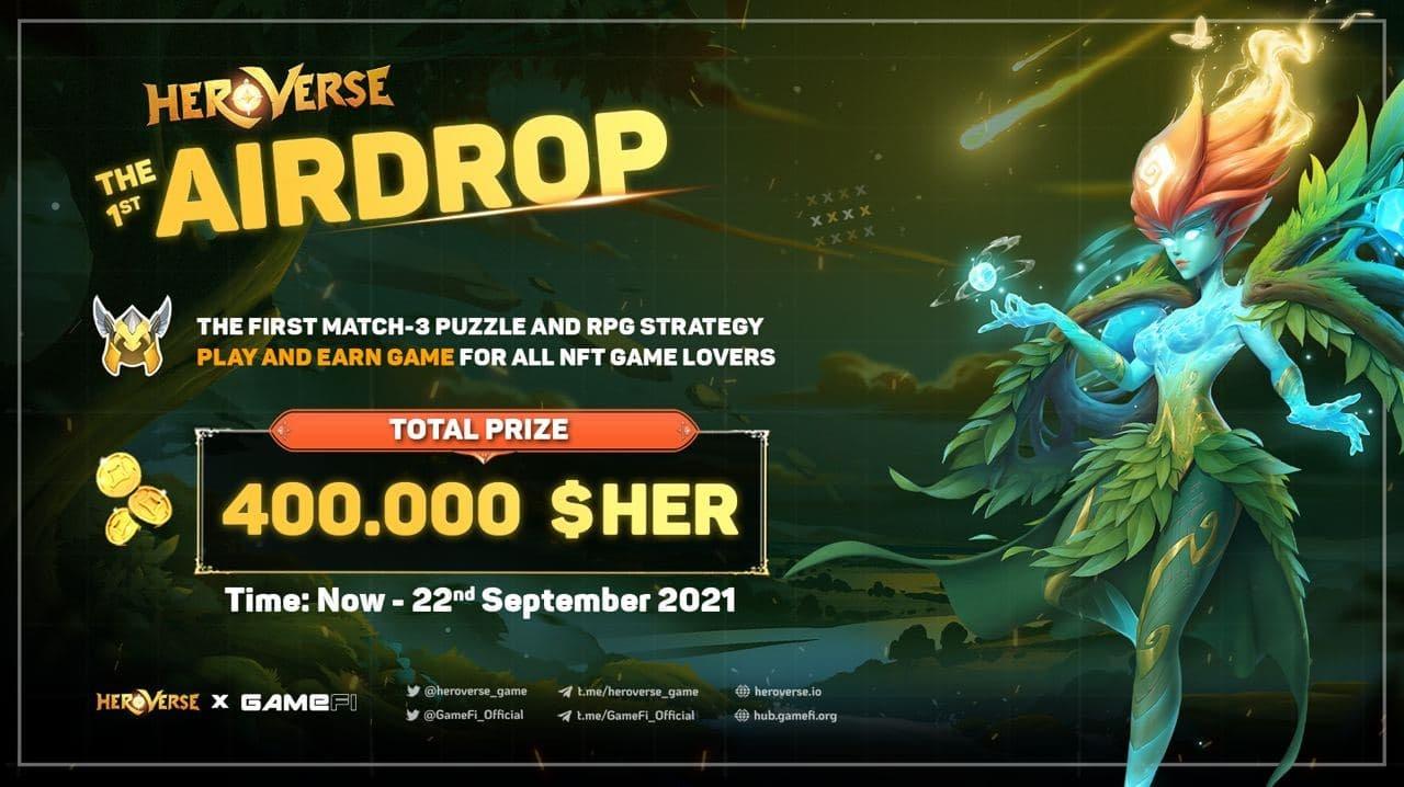 400,000 $HER TOKEN to WIN