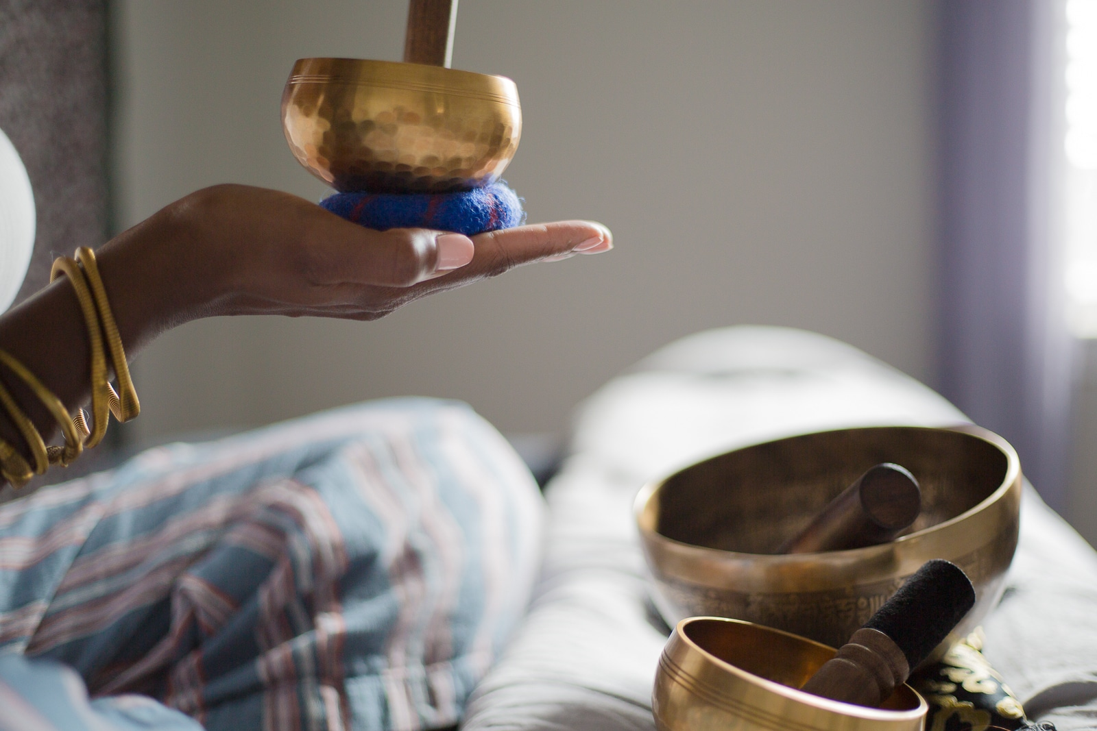 Enter to win a Hand Hammered Bronze Singing Bowl from TheOhmStore.co ~ $215 Value ~ 4 Winners! Giveaway Image