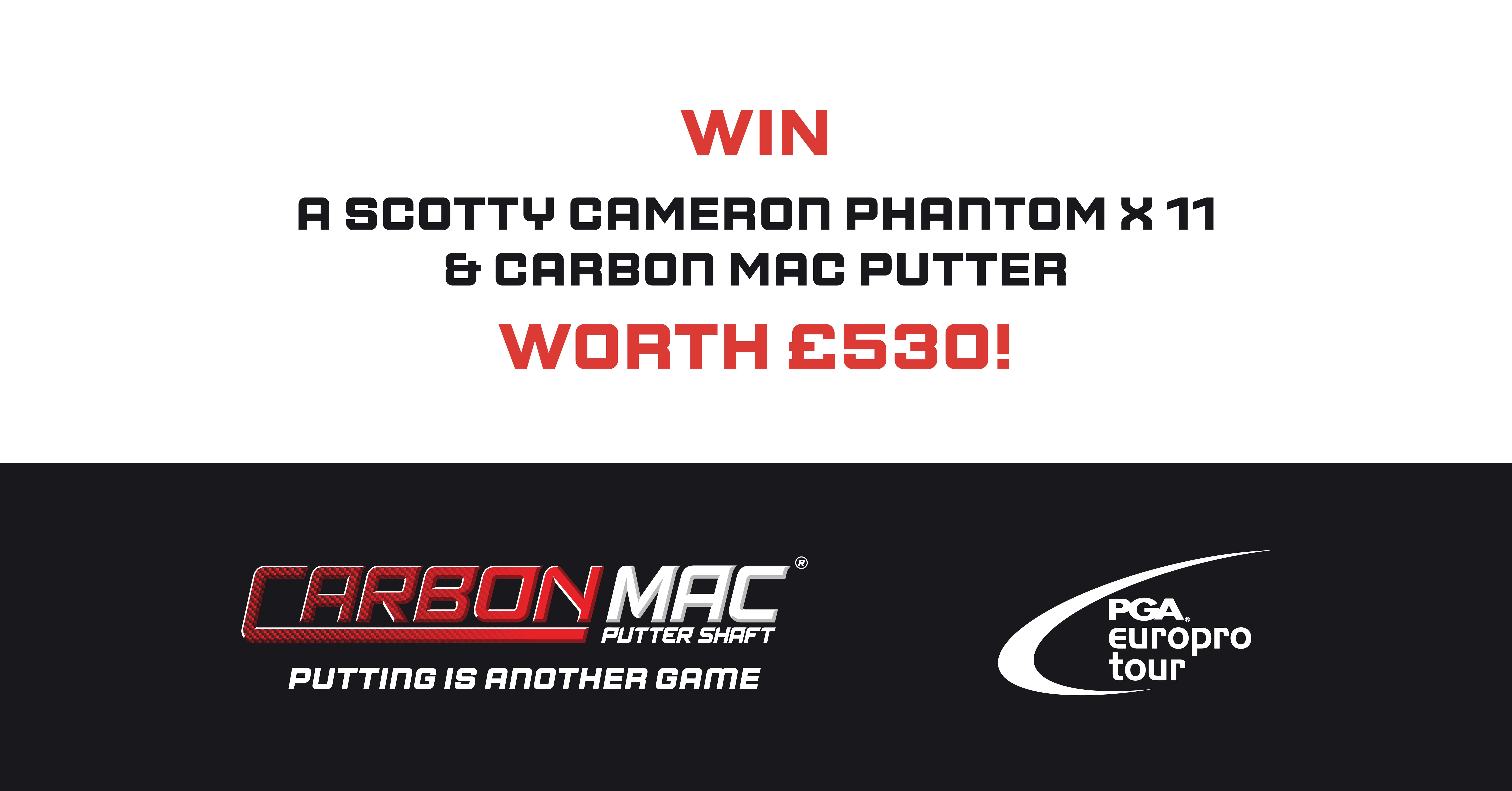 Win a Free Golf Putter Worth Over £530