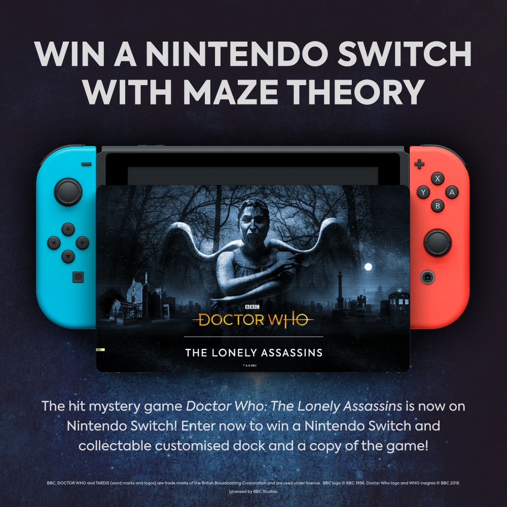 Win a Nintendo Switch with Maze Theory